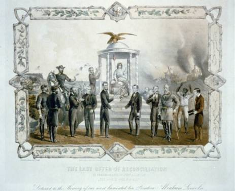 """The Last Offer of Reconciliation"" courtesy of the Library of Congress"