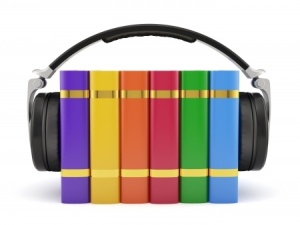 Book with Headphones